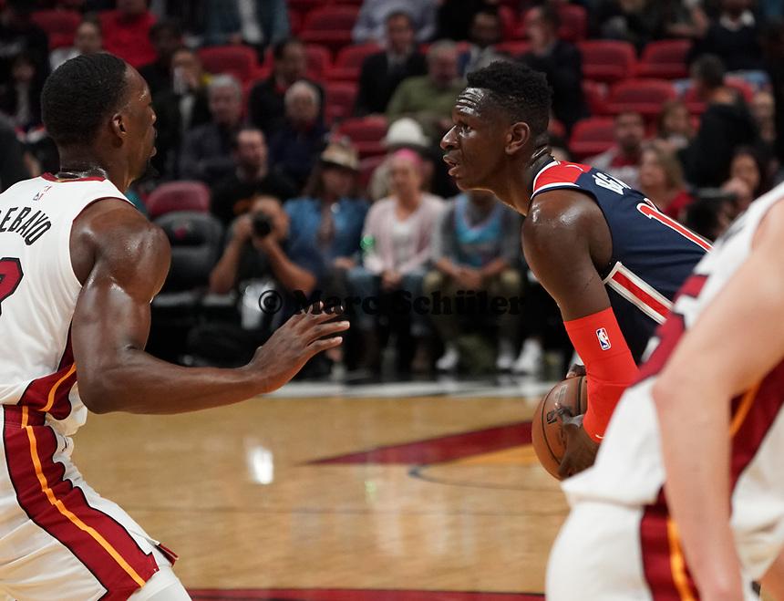 Isaac Bonga (G/F, Washington Wizards, #17) - 22.01.2020: Miami Heat vs. Washington Wizards, American Airlines Arena