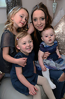 "Pictured: Mia Lilly (TOP L) with her mum Chloe Priestley and her two siblings from Pembroke Dock in west Wales, UK.<br /> Re: A mother from Pembrokeshire, west Wales, has defended her decision to enter her six-year-old daughter to beauty pageants.<br /> Mia Lilly, has been selected to compete as Little Miss Wales in the Pure International finals in Orlando, Florida in June.<br /> Her mother Chloe Priestley said she has received criticism and abuse from people for allowing her daughter to take part in pageants.<br /> ""Mia got a lot of confidence from competing"". she said.<br /> Chloe began to look into pageants when Mia was four years old, after speaking to a friend.<br /> Mia won Little Miss Cardiff 2017 and Little Miss Sunshine, and finishing second in the Pure UK national finals she will compete in the US.<br /> Chloe said she understood criticism of her decision and people's concerned about body image but said beauty pageants were often misrepresented."
