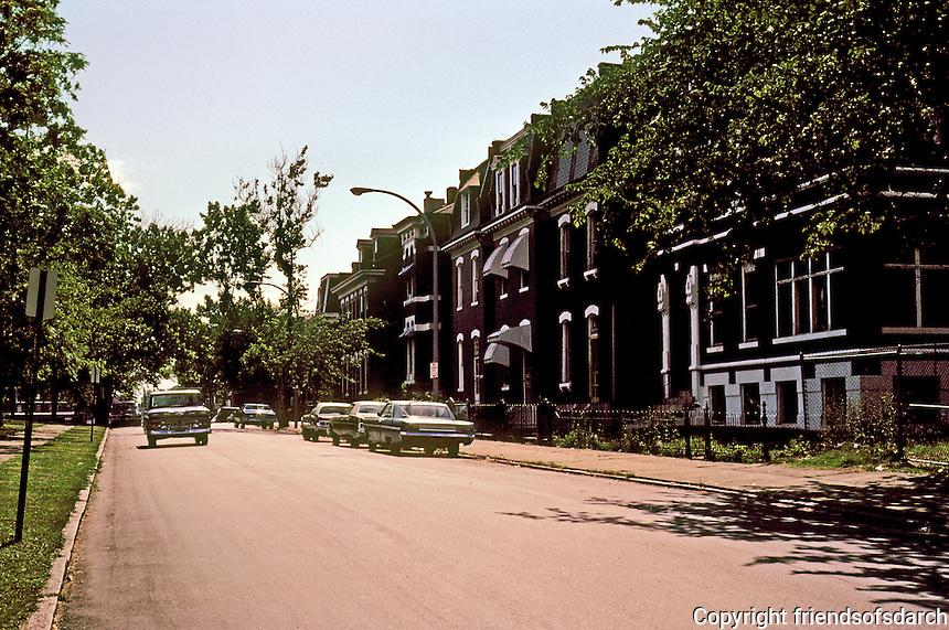 St. Louis: Hyde Park--historic North St. Louis neighborhood. Photo '77.