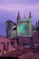 Spanien, Mallorca, Kathedrale La Seu in Palma de Mallorca