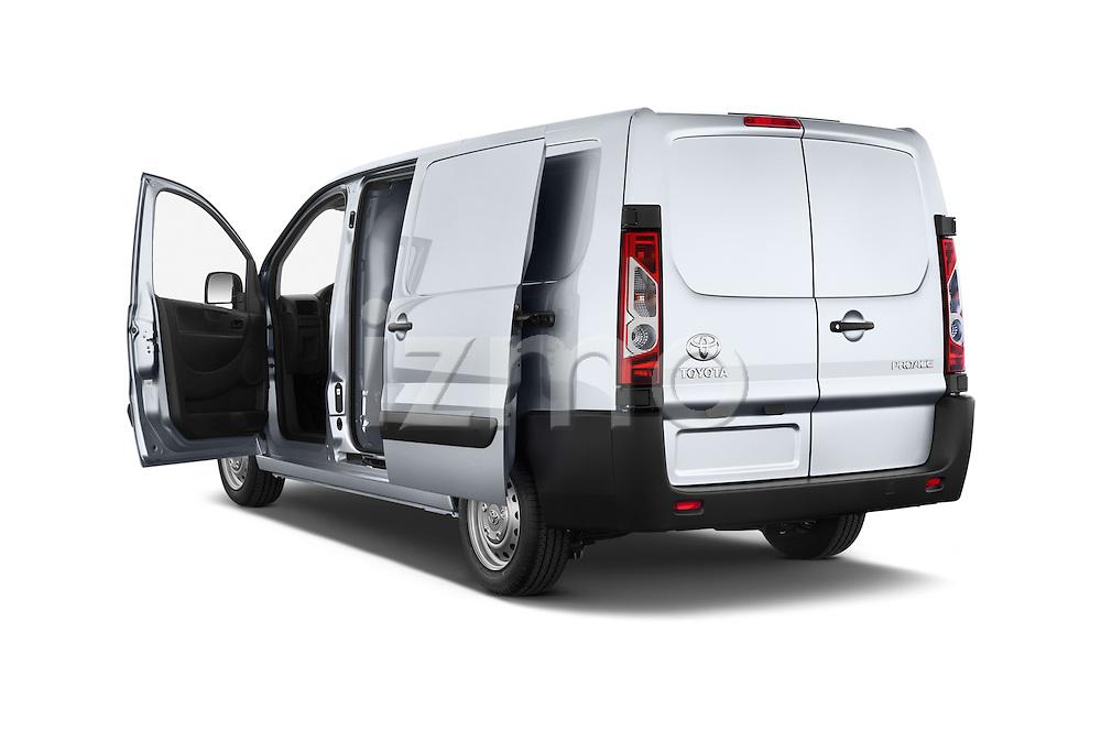Car images of a 2013 Toyota Proace Comfort 5 Door Cargo Van Doors