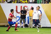 Action photo during the match Colombia vs Costa Rica at  NRG Stadium Copa America Centenario 2016. ---Foto  de accion durante el partido Colombia vs Costa Rica, En el Estadio NRG Partido Correspondiante al Grupo - A -  de la Copa America Centenario USA 2016, en la foto: Frank Fabra<br /> --- 11/06/2016/MEXSPORT/Omar Martinez.
