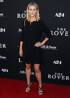 WESTWOOD, LOS ANGELES, CA, USA - JUNE 12: Rachael Taylor at the Los Angeles Premiere Of A24's 'The Rover' held at Regency Bruin Theatre on June 12, 2014 in Westwood, Los Angeles, California, United States. (Photo by Xavier Collin/Celebrity Monitor)