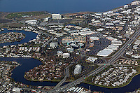 aerial photograph Foster City, San Mateo county, California