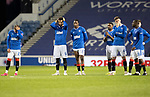Rangers v St Johnstone…25.04.21   Ibrox.  Scottish Cup<br />James Tavernier, Connor Goldson, Joe Aribo, Jermaine Defoe, Jack Simpson, Scott Wright and Glen Kamara reacts as the penalty shoot out goes from bad to worse<br />Picture by Graeme Hart.<br />Copyright Perthshire Picture Agency<br />Tel: 01738 623350  Mobile: 07990 594431