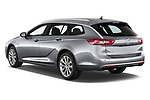 Car pictures of rear three quarter view of 2021 Opel Insignia-Sports-Tourer Ultimate 5 Door Wagon Angular Rear