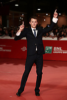 "L'attore Ostap Vakulyuk posa sul red carpet per la presentazione del film ""Eter"" al Festival Internazionale del Film di Roma, 19 ottobre 2018.<br /> Actor Ostap Vakulyuk poses on the red carpet of the movie ""Eter"" during the international Rome Film Festival at Rome's Auditorium, on October 19, 2018.<br /> UPDATE IMAGES PRESS/Isabella Bonotto"
