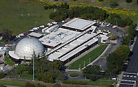 aerial photograph commercial office building geodesic dome, San Ramon, Contra Costa County, California