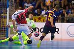League LNFS 2018/2019.<br /> PlayOff Final. 1er. partido.<br /> FC Barcelona Lassa vs El Pozo Murcia: 7-2.<br /> Fernando vs Leo Santana.