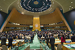 General Assembly 70th session 27th plenary meeting<br /> Appointment of the Secretary-General of the United Nations [item 113]<br /> (a) Letter from the President of the Security Council to the President of the General Assembly (A/71/531) <br /> (b) Draft resolution (A/71/L.4 (to be issued))