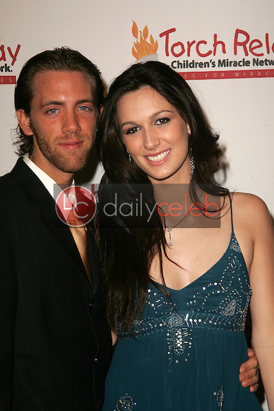 Nick Rumpf and Angel Carter<br /> at the Children's Miracle Network Torch Relay Celebration, Renaissance Hotel, Hollywood, CA 11-19-06<br /> <br /> David Edwards/DailyCeleb.Com 818-249-4998