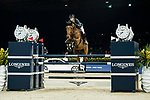 Patrice Delaveau of France riding Vestale de Mazure Hdc in action in the the Longines Speed Challenge during the Longines Masters of Hong Kong at AsiaWorld-Expo on 10 February 2018, in Hong Kong, Hong Kong. Photo by Ian Walton / Power Sport Images