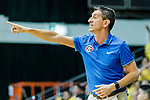 Team Eastern Long Lions coach Eduard Torres Girbau gestures during the Hong Kong Basketball League game between Eastern Long Lions and Winling at Southorn Stadium on June 01, 2018 in Hong Kong. Photo by Yu Chun Christopher Wong / Power Sport Images