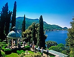 Schweiz, Tessin, Morcote: Parco Scherrer - Sonnentempel | Switzerland, Ticino, Morcote: Parco Scherrer - Sun Temple