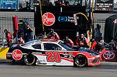 #20: Christopher Bell, Joe Gibbs Racing, Toyota Supra Rheem/Smurfit Kappa pit stop