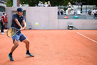 6th June 2021; Roland Garros, Paris France; French Open tennis championships day 8;  Juncheng Shang ( CHI )
