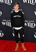 "LOS ANGELES, CA: 13, 2020: Parker Bates at the world premiere of ""The Call of the Wild"" at the El Capitan Theatre.<br /> Picture: Paul Smith/Featureflash"