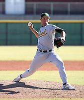 Brett Hunter / Oakland Athletics 2008 Instructional League..Photo by:  Bill Mitchell/Four Seam Images
