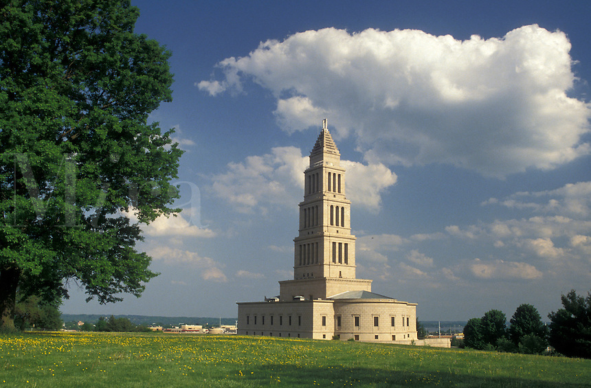AJ4214, Alexandria, George Washington, memorial, Virginia, The George Washington Masonic National Memorial on Shooter's Hill in Alexandria in the state of Virginia.