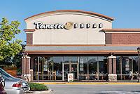 Panera Bread cafe restaurant, Mount Laural, New Jersey, USA