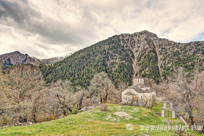 Transfiguration of the Savior church in Chaliki, Greece