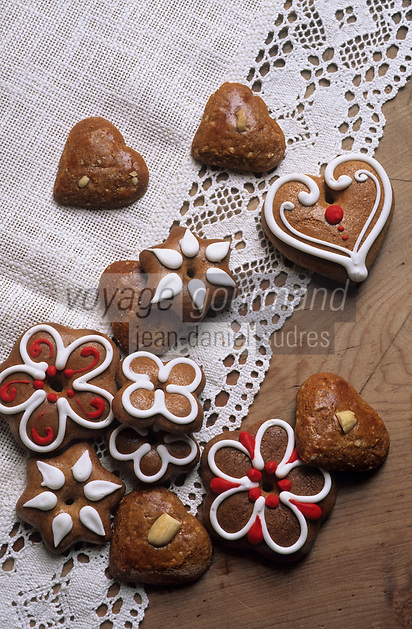 Europe/Autriche/Tyrol/Alpbach: Gateaux et pains d'épice pour Noël