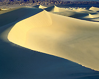 Sunrise light on the sand dunes in Death Valley National Park ,CA