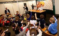 10-2-10, Rotterdam, Tennis, ABNAMROWTT, persconverentie kids