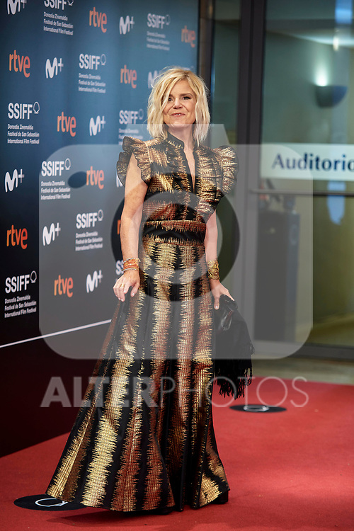 Eugenia Martinez de Irujo,, attend The red carpet at 'Oso', during the 68th San Sebastian Donostia International Film Festival - Zinemaldia.September 25,2020.(ALTERPHOTOS/Yurena Paniagua)