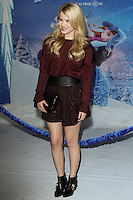 """HOLLYWOOD, CA - NOVEMBER 19: Taylor Spreitler at the World Premiere Of Walt Disney Animation Studios' """"Frozen"""" held at the El Capitan Theatre on November 19, 2013 in Hollywood, California. (Photo by David Acosta/Celebrity Monitor)"""