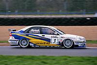 1997 British Touring Car Championship Test day. #3 Rickard Rydell (SWE). Volvo S40 Racing. Volvo S40.