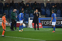 Roberto Mancini, Italy coach during the Uefa Nation League Group Stage A1 football match between Italy and Netherlands at Atleti azzurri d Italia Stadium in Bergamo (Italy), October, 14, 2020. Photo Andrea Staccioli / Insidefoto