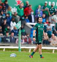 11th September 2021; Galway Greyhound Stadium, Connacht, Galway, Ireland; Pre-season rugby union, Connacht versus London Irish; Connacht fly half Jack Carty