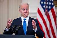 Biden speaks on American Rescue Plan