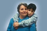 Nonna e nipote...