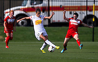 Boyds, MD - April 13, 2014: The Western New York Flash defeated the Washington Spirit 3-1 during their NWSL match at the Maryland SoccerPlex.