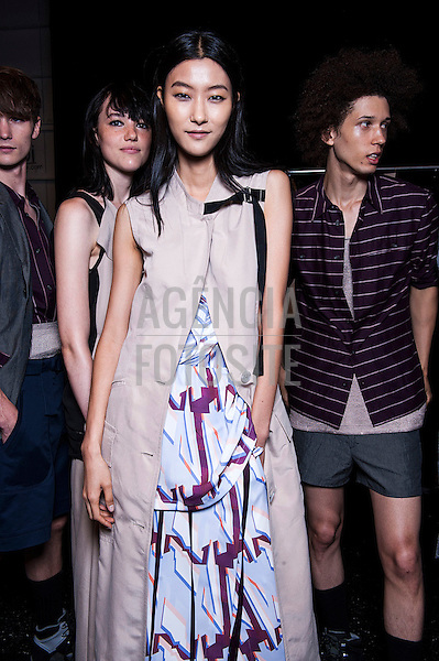 Nova Iorque, EUA '09/2014 - Desfile de Richard Chai durante a Semana de moda de Nova Iorque  -  Verao 2015. <br /> <br /> Foto: FOTOSITE