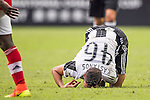 Juventus' player Grigoris Kastanos knees off the pitch during the South China vs Juventus match of the AET International Challenge Cup on 30 July 2016 at Hong Kong Stadium, in Hong Kong, China.  Photo by Marcio Machado / Power Sport Images