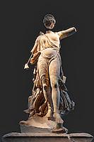 The Nike of Paeonios (421 B.C.) in Olympia museum, Greece