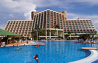 Beautiful expensive elegant Blau Varadero Hotel in the wonderful relaxing Varadero Beach in Cuba