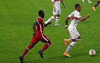 22nd August 2020; Saalfelden, Austria; Pres-season football friendly, Liverpool versus Stuttgart;   Roberto Massimo  vfB  makes the break forward