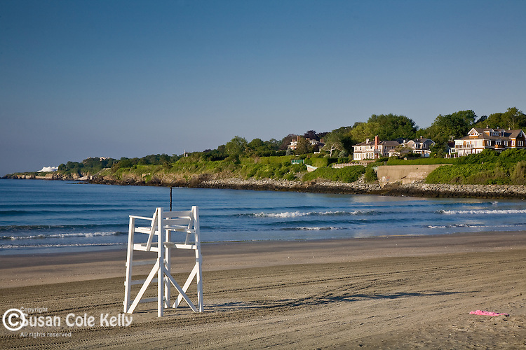 Easton Beach / First Beach in Newport, Narragansett Bay, RI, USA