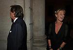 LUCA CORDERO DI MONTEZEMOLO CON LA MOGLIE LUDOVICA ANDREONI