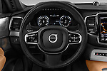 Car pictures of steering wheel view of a 2015 Volvo XC90 Inscription7 5 Door SUV Steering Wheel