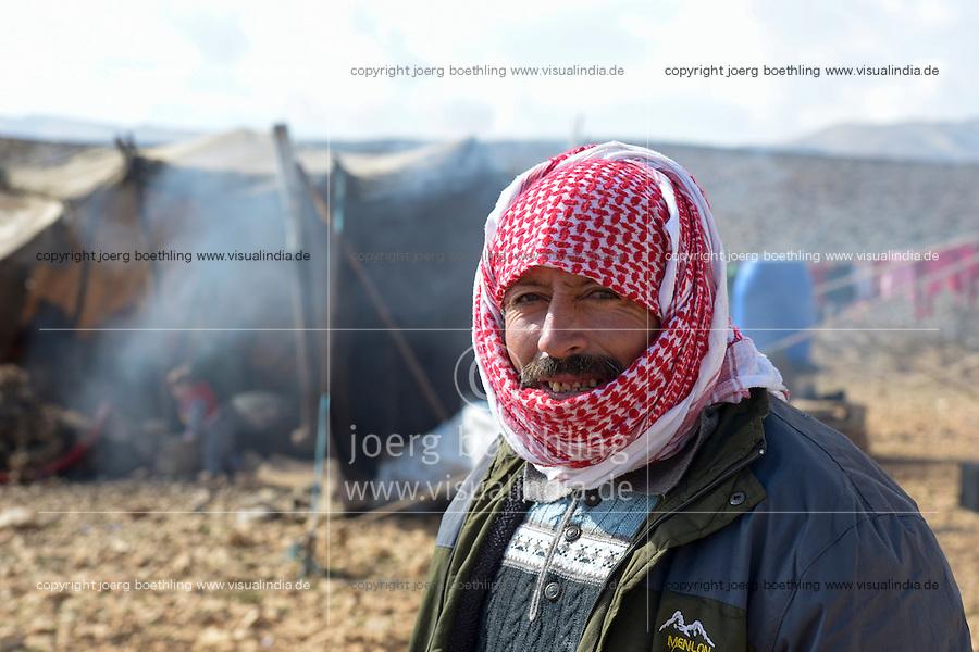 LEBANON, shepherd in Lebanon mountains / LIBANON, Hirten im Libanon Gebirge