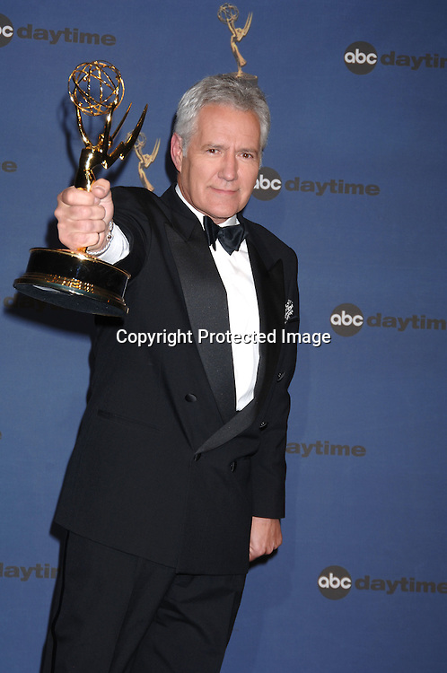 Alex Trebek ..in the Press Room  at the 33rd Annual Daytime Emmy Awards on April 28, 2006 at The Kodak Theatre in Hollywood, Californina. ..Robin Platzer, Twin Images
