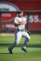 Glendale Desert Dogs Ramon Laureano (15), of the Houston Astros organization, during a game against the Surprise Saguaros on October 22, 2016 at Surprise Stadium in Surprise, Arizona.  Surprise defeated Glendale 10-8.  (Mike Janes/Four Seam Images)