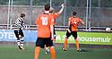 Paul Quinn scores Shire's second goal  ...
