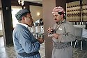 Irak 1991   Dr. Mahmoud Osman et Massoud Barzani a Shaklawa pendant la reunion du Front du Kurdistan   Iraq 1991  Dr. Mahmud Osman and Massood Barzani in Shaklawa during the meeting of the Kurdish front