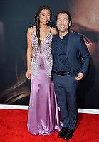 "LOS ANGELES, CA: 24, 2020: Storm Reid & Leigh Whannell at the premiere of ""The Invisible Man"" at the TCL Chinese Theatre.<br /> Picture: Paul Smith/Featureflash"